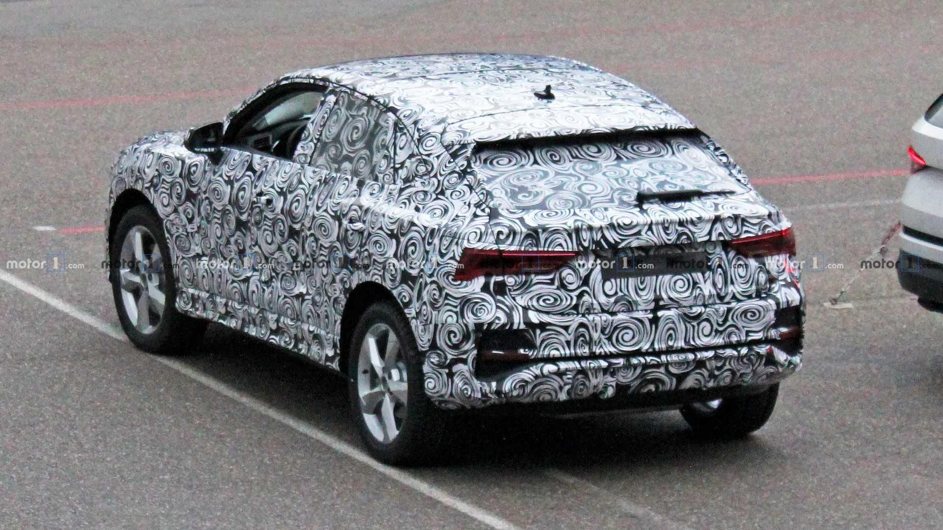 Audi Q4 špijunske fotografije