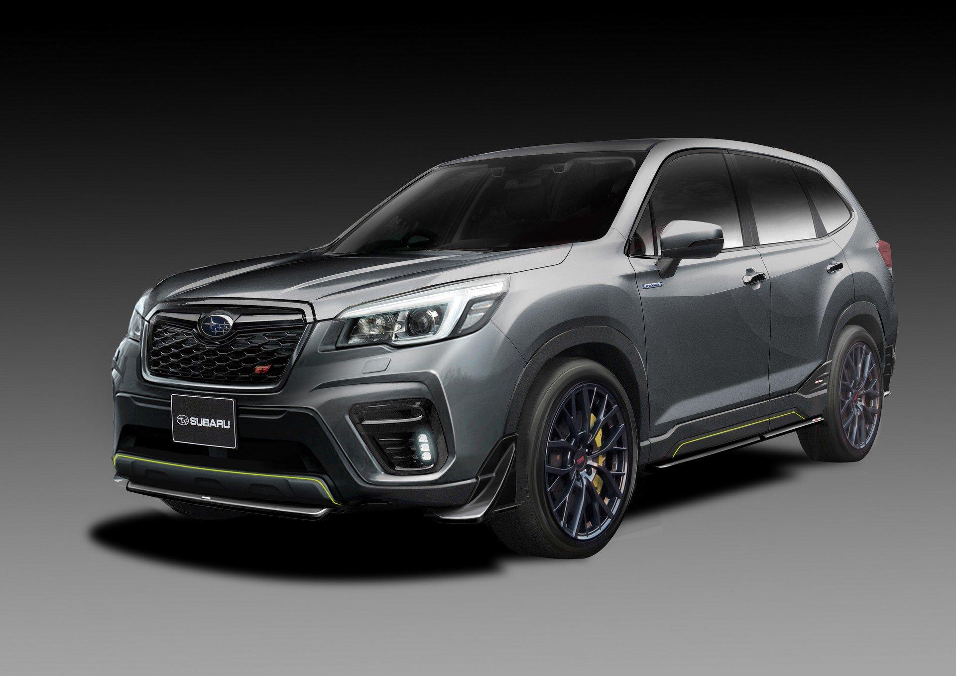 Subaru Forester STI koncept