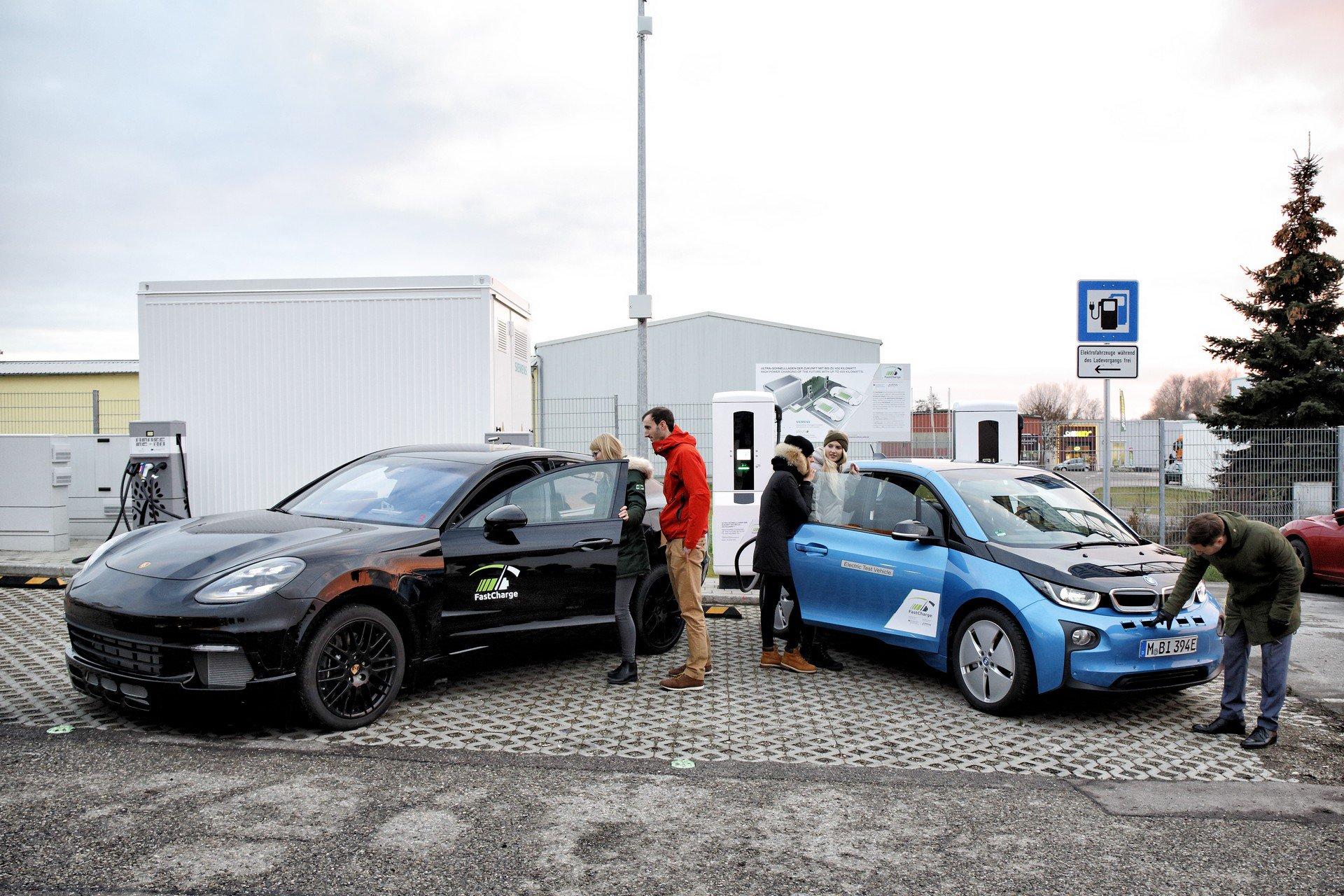 BMW i Porshe