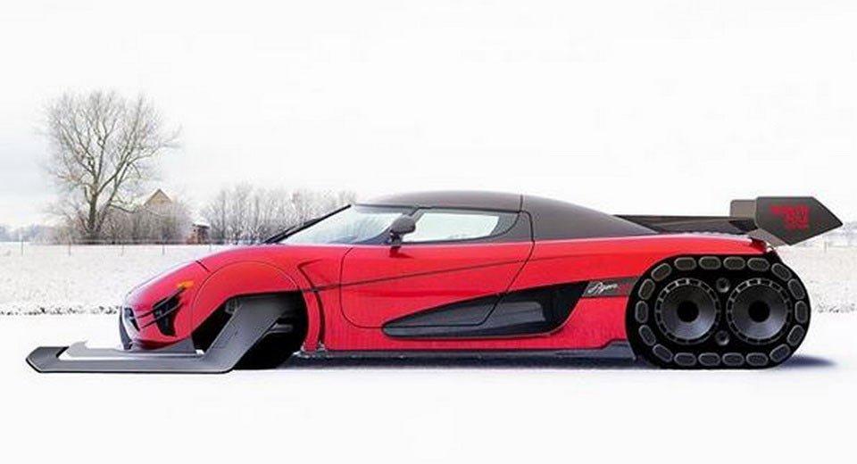 Koeingsegg Agera - Deda Mraz Edition