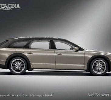 Audi A8 Avant Allroad W12