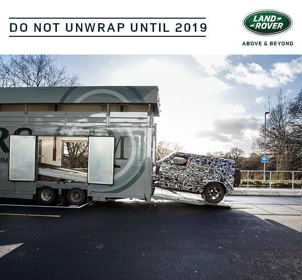 Novi Land Rover Defender - tizer