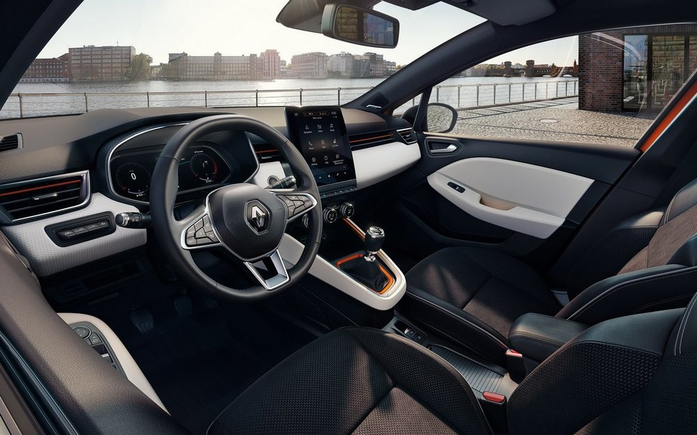 Renault Clio enterijer