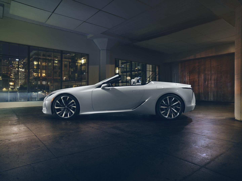 Lexus LC kabriolet koncept