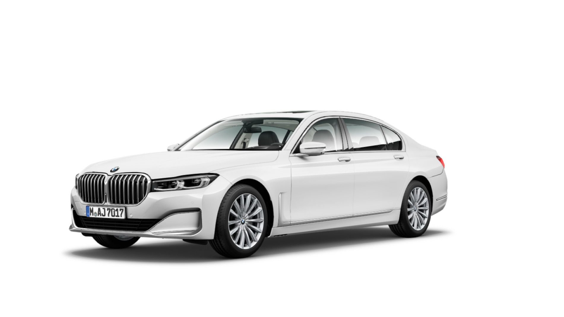 Restilizovani BMW Serije 7