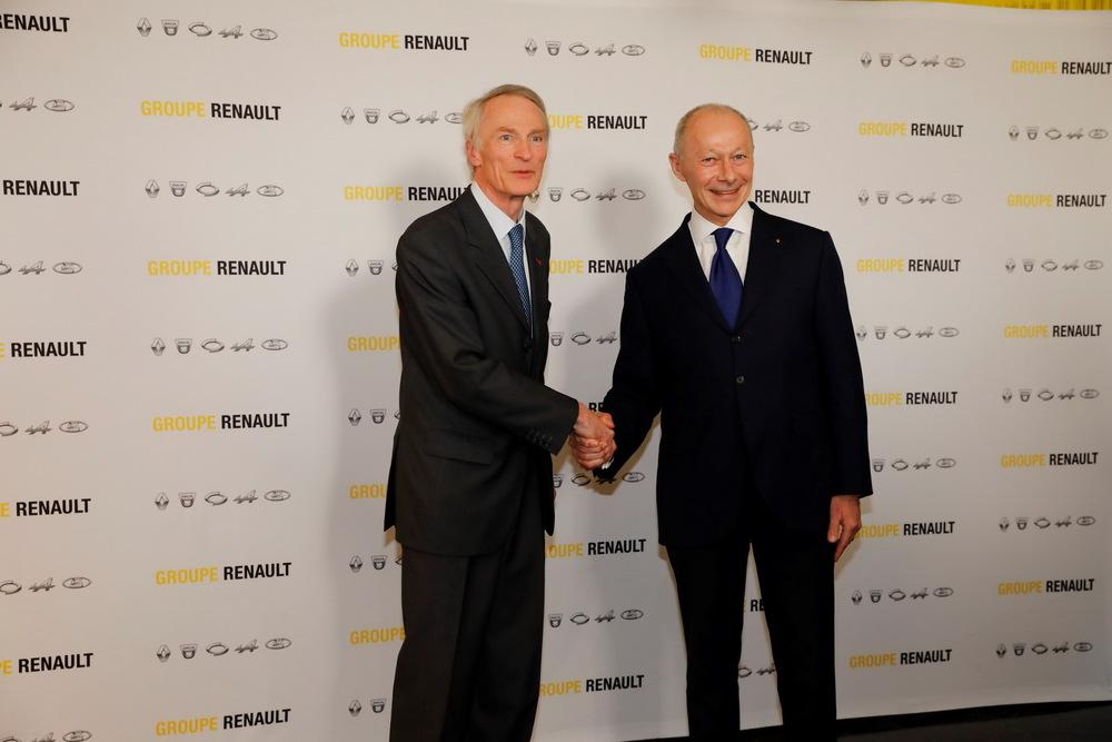 Senard i Bolore Renault