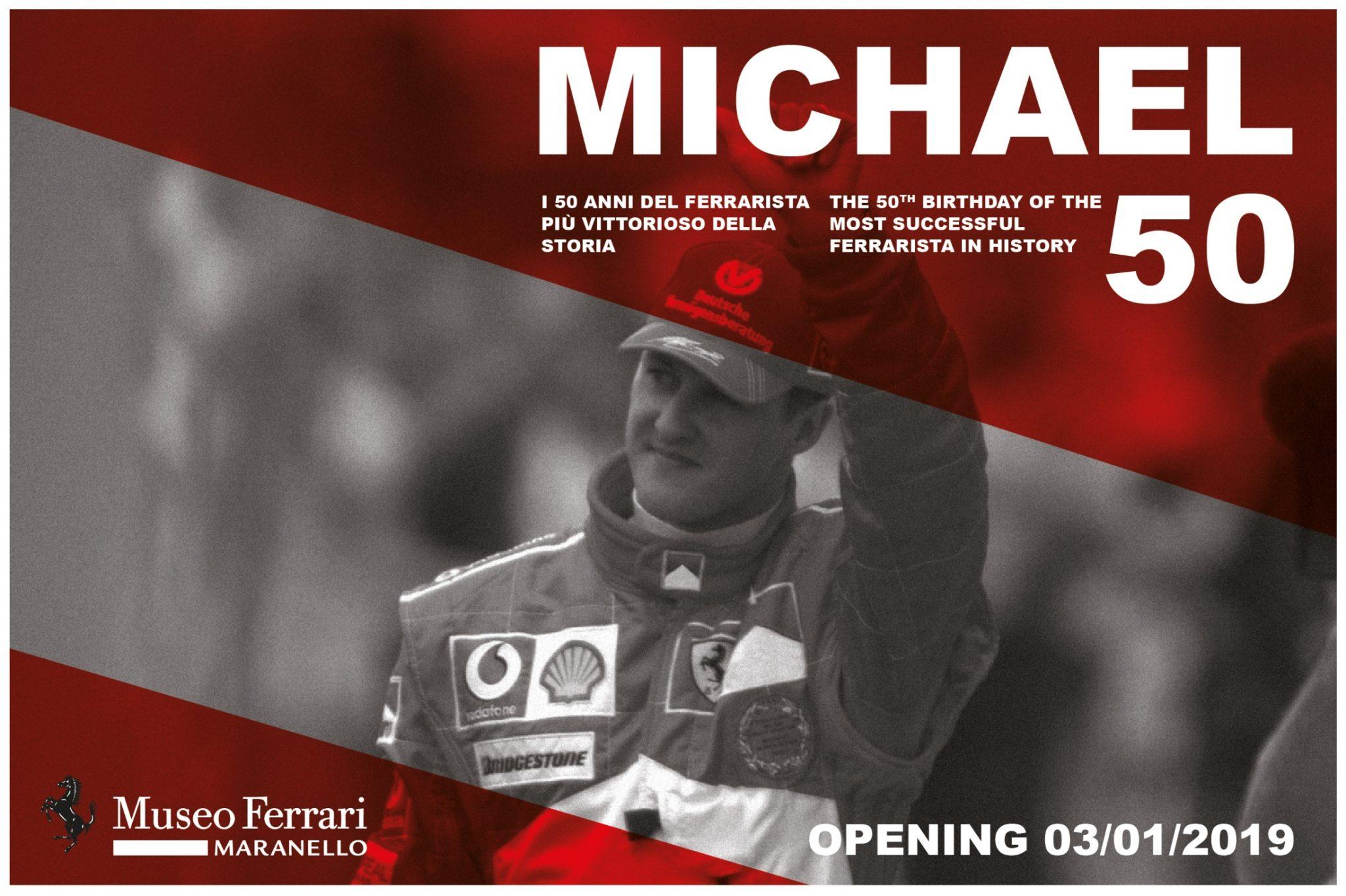 """""""Michael 50"""" izložba"""
