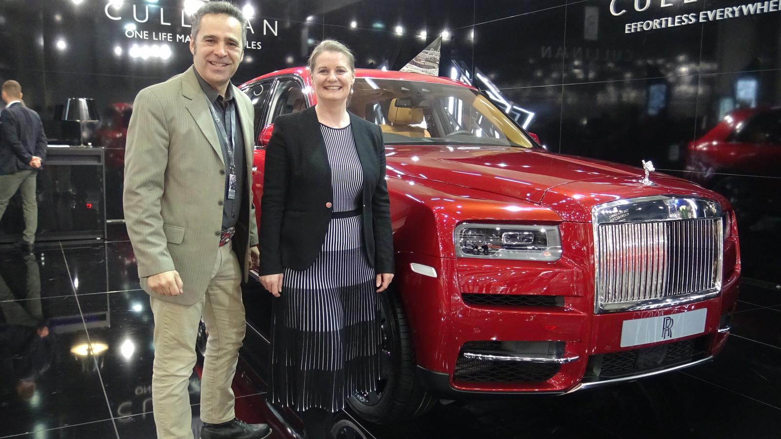 Rolls Royce Cullinan, Mirosalv Šosberger a Caroline Krismer