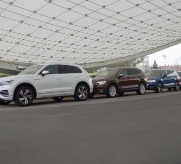 VW SUV gama