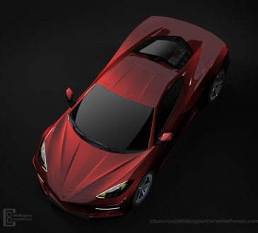 Chevrolet Corvette C8 render