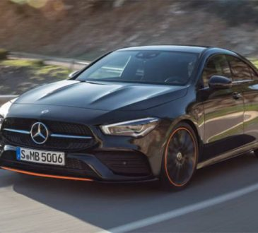Mercedes-Benz CLA 2020.