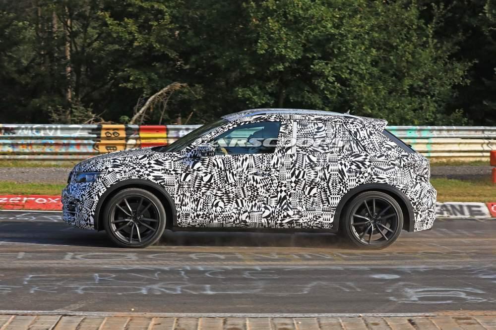 VW T-Roc R špijunska fotografija