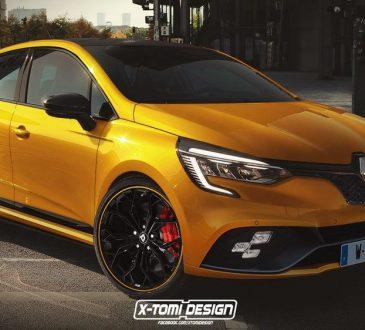 Novi Renault Clio RS - render