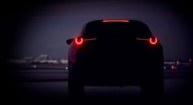 Mazda SUV tizer