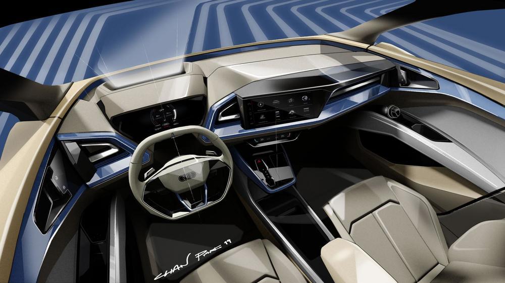 Audi Q4 e-tron koncept