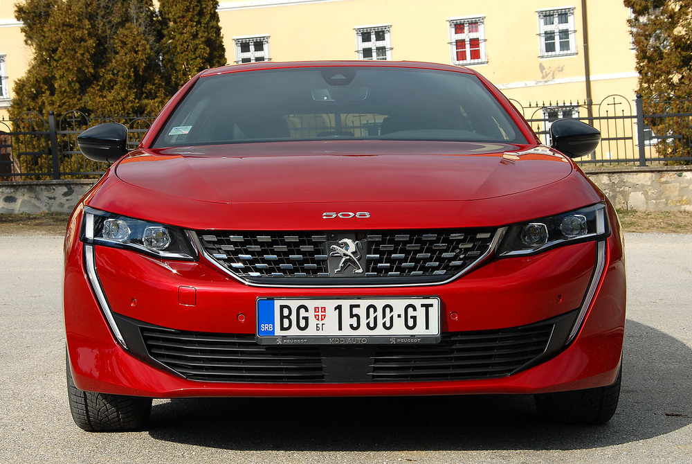 Peugeot 508 TEST