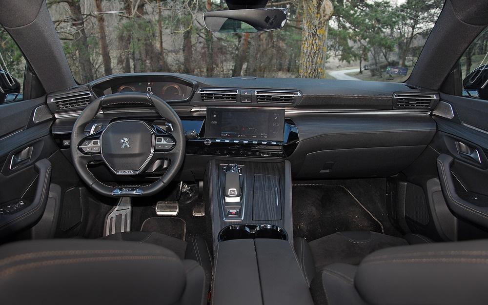 Peugeot 508 TEST/Enterijer