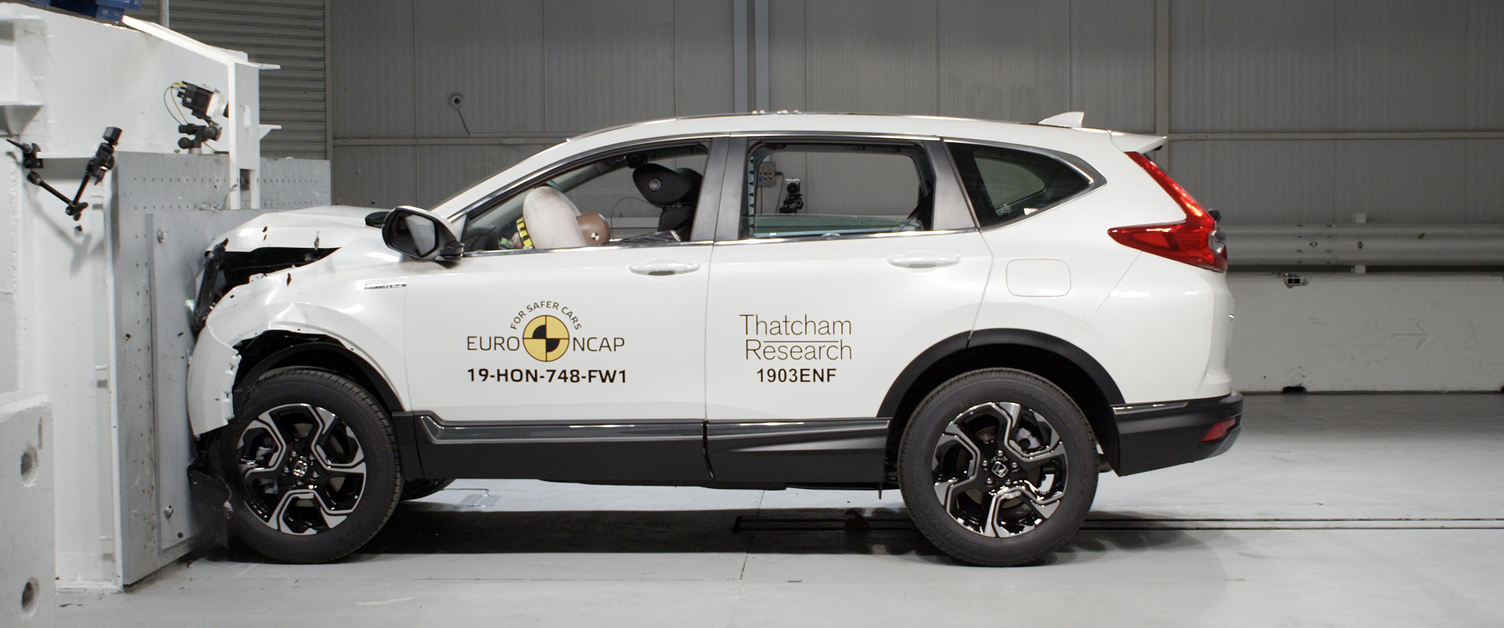 Honda CR-V Euro NCAP