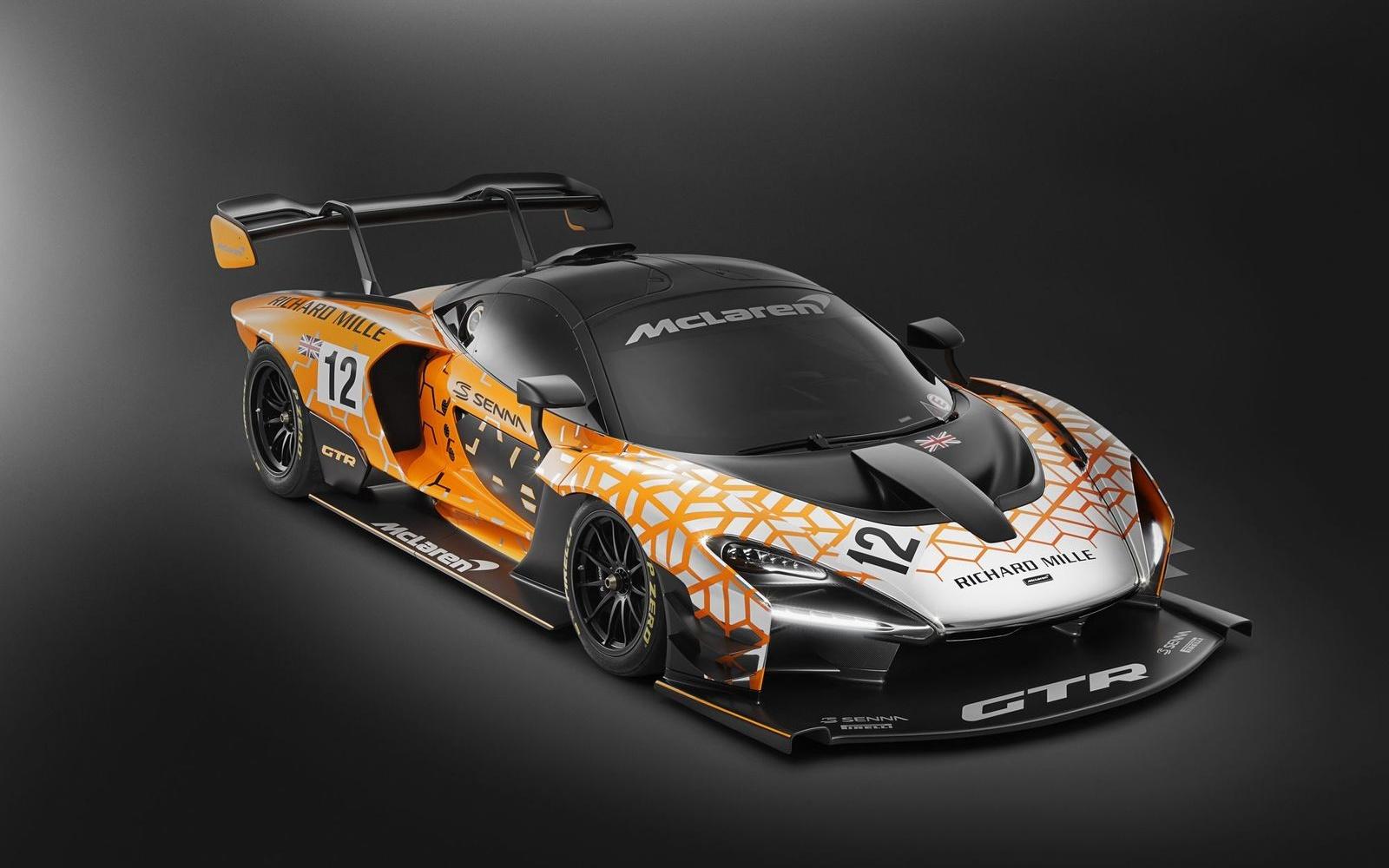 McLaren Senna GTR koncept