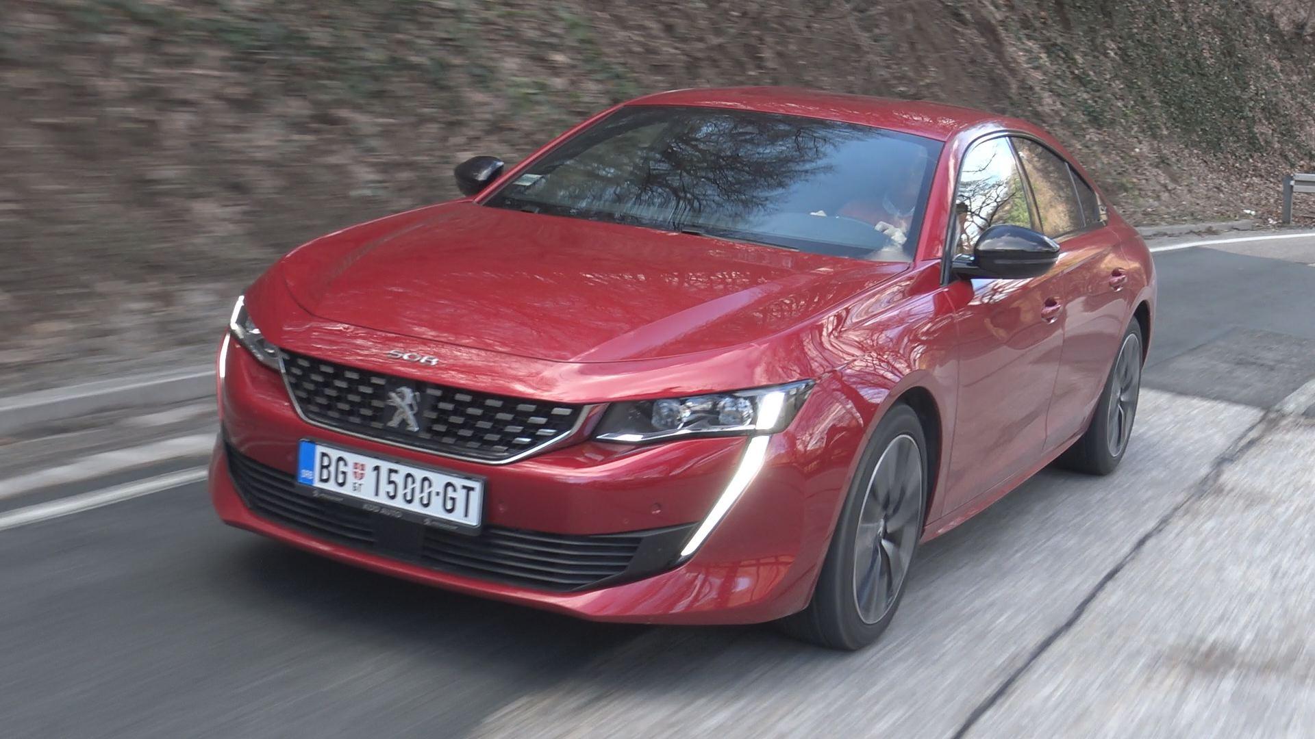 TEST: Peugeot 508/Najava emisije