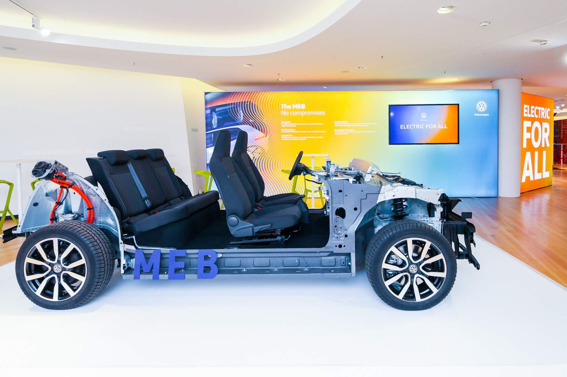 Audi/ VW MEB platforma