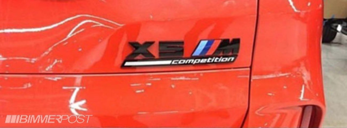 BMW X5 M i X6 M Competition