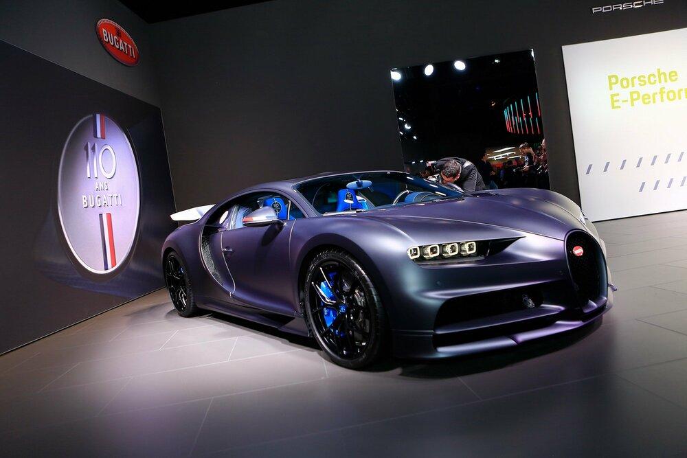 "Bugatti Chiron ""110 Ans"" Edition"