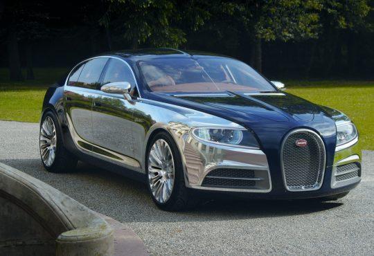 Bugatti Galibier koncept / moderni Royale
