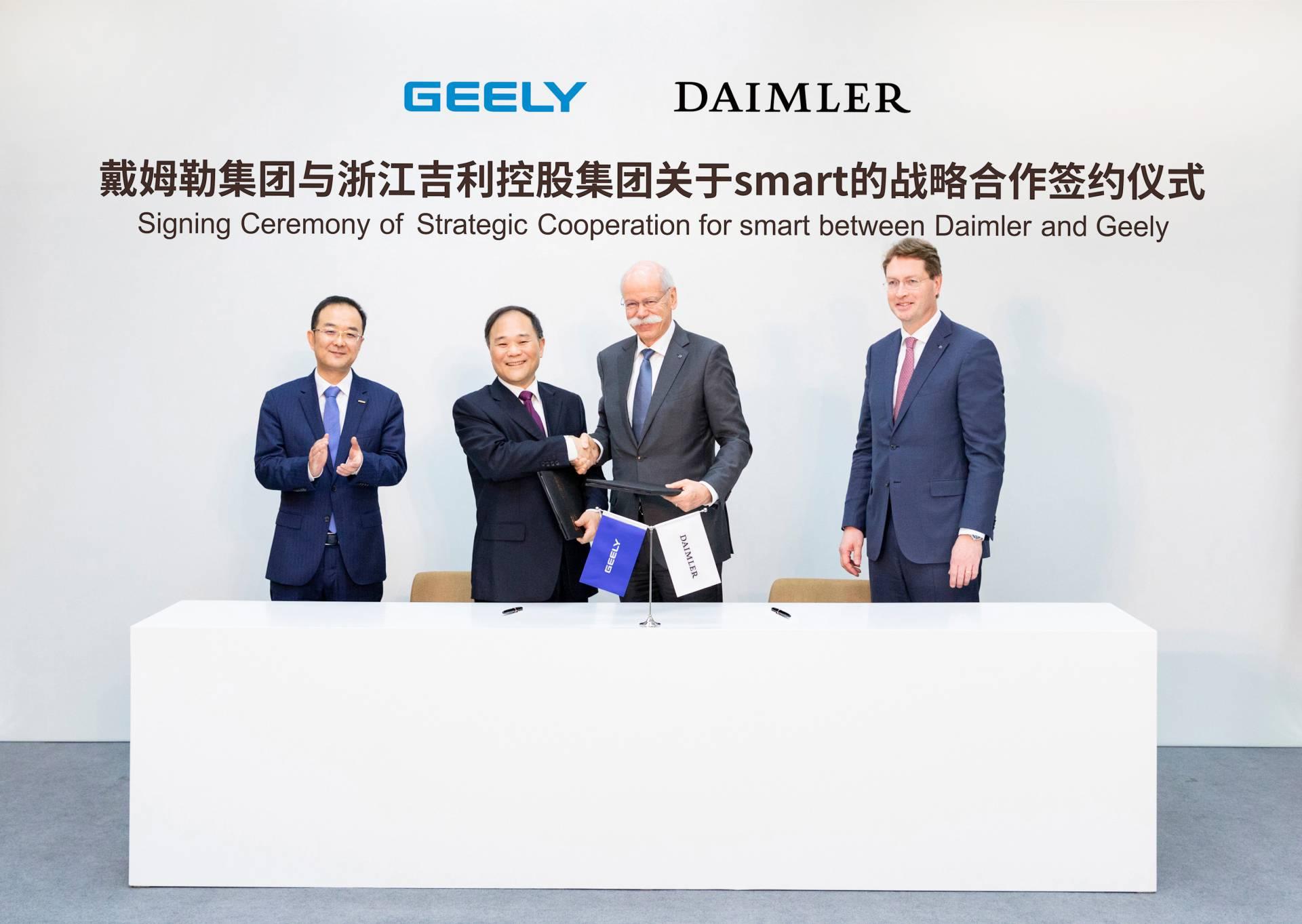 Smart - Daimler i Geely