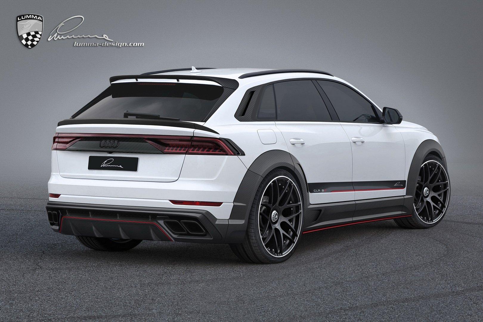 Audi Q8 by Lumma