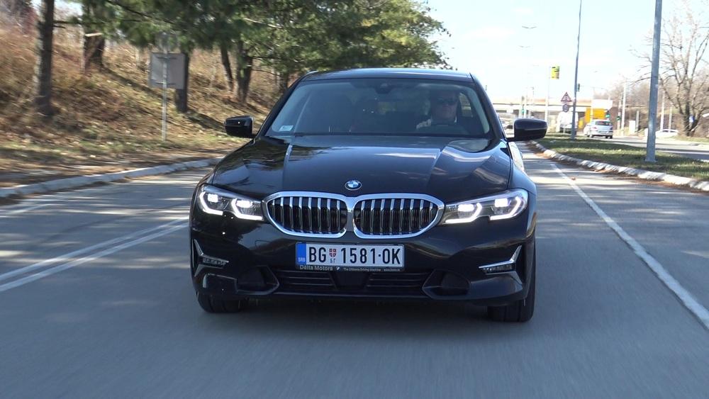 BMW 320d TEST