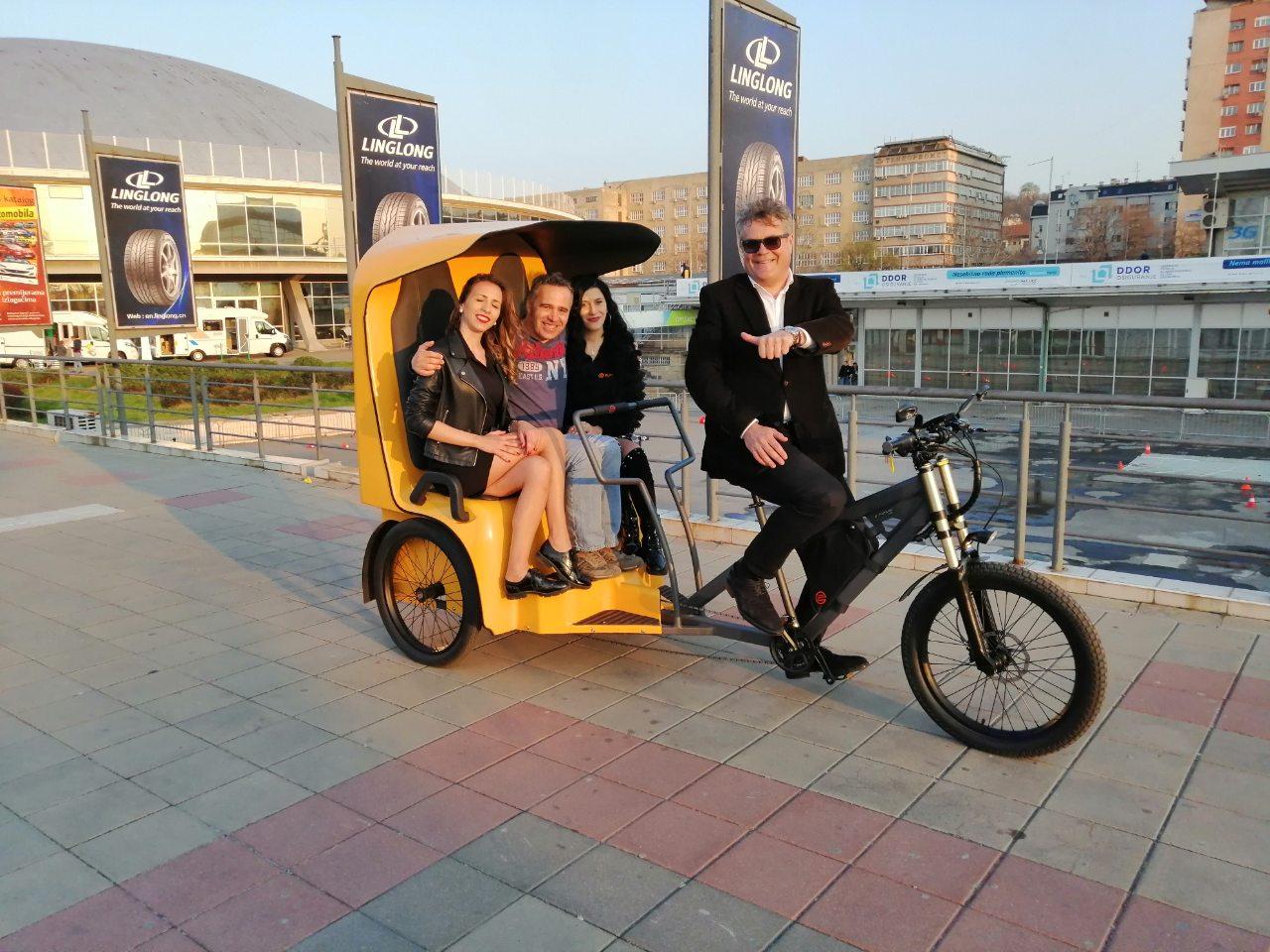 E-Trike rikša