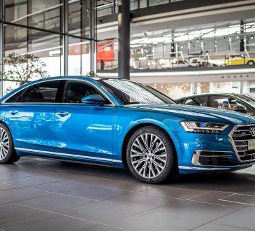 Audi A8 L 50 TDI Ara Blue