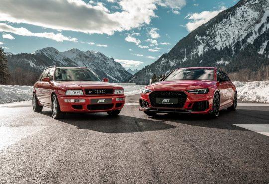 Audi RS2 Avant i RS4 Avant