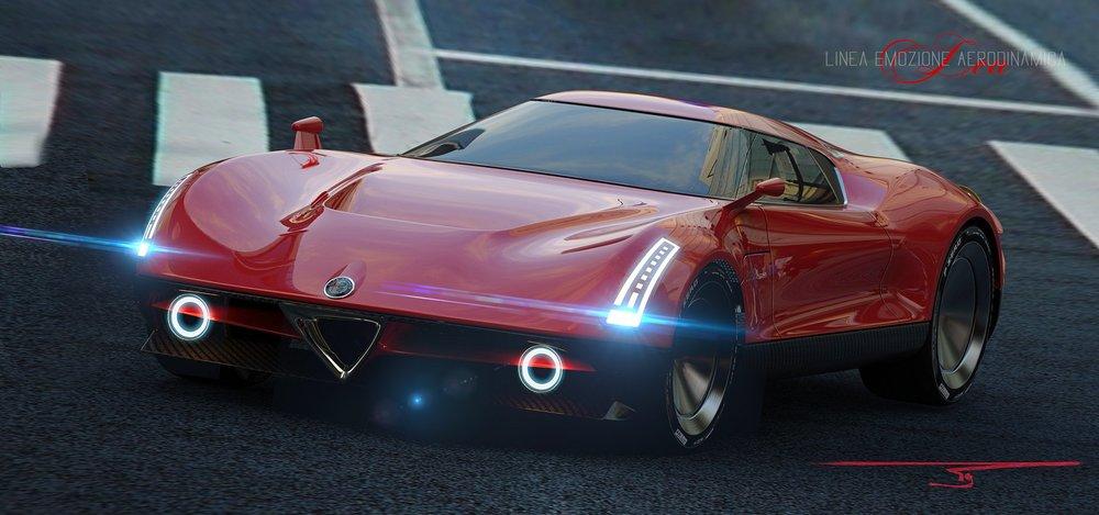 Alfa Romeo LEA koncept