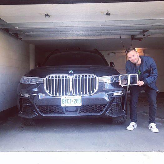 Maska modela BMW X7