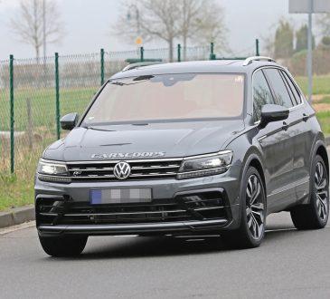 VW Tiguan R - špijunske fotografije