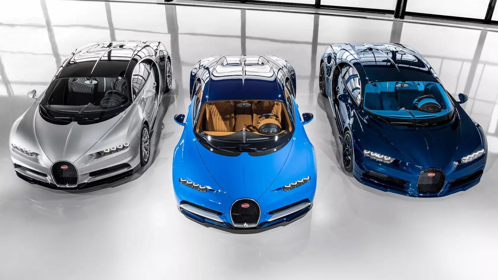Bugatti - VW grupacija