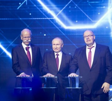 Zeče, Daimler, Moskva