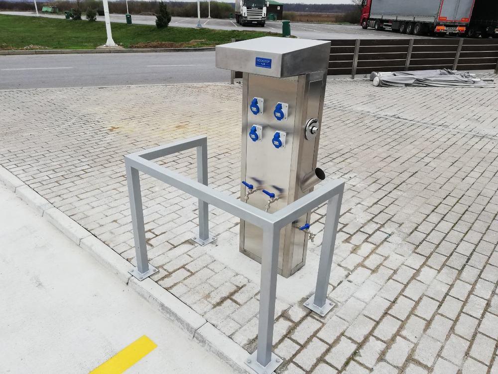 DockStop na MOL Serbia servisnoj stanici