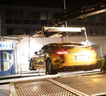 Porsche Panamera zaplenjen