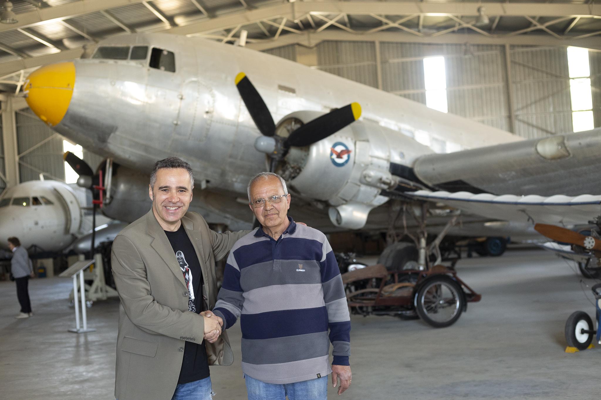 Sa Ray-om Polidanom - Muzej avijacije na Malti
