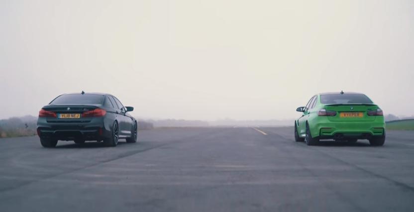 BMW M3 Compeition vs BMW M5 Competition