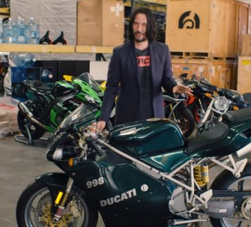Kijanu Rivs i njegova kolekcija motora