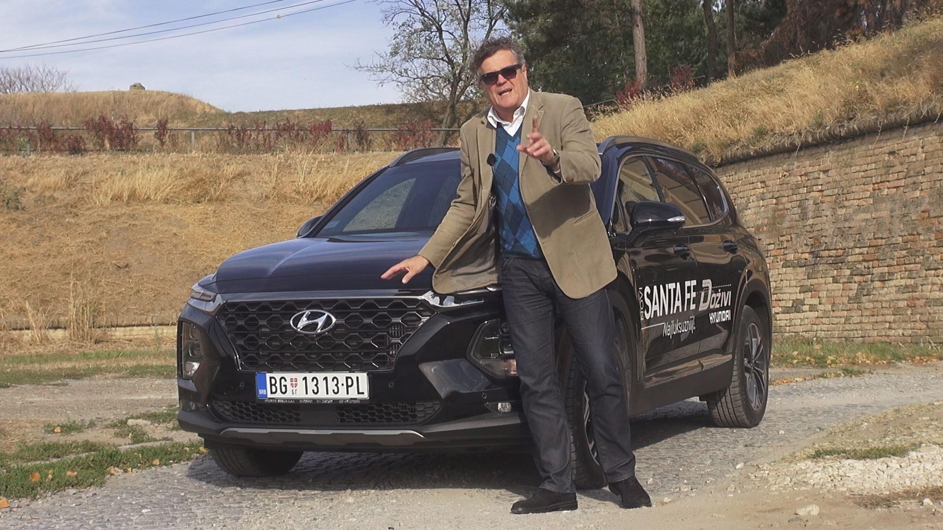 TEST Hyundai Santa Fe - 978. emisija Vrele Gume