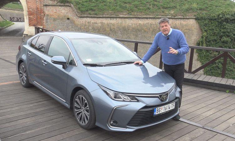 TEST Toyota Corolla - Vrele Gume