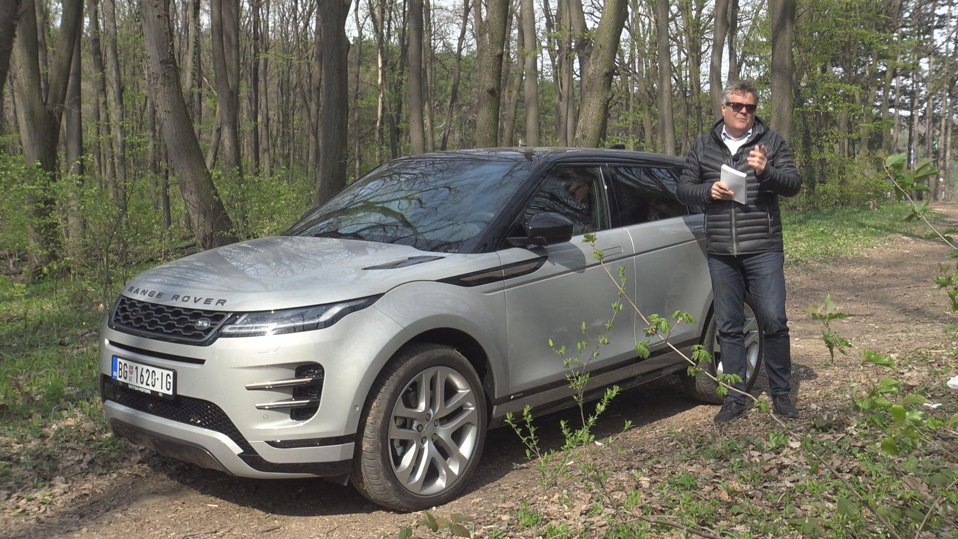 Test Range Rover Evoque - Vrele Gume