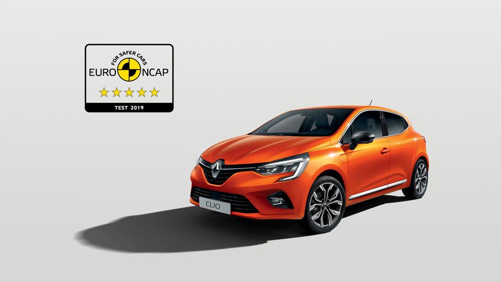 Renault Clio EuroNCAP