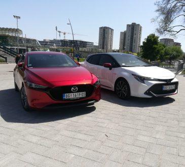 UPOREDNI TEST: Mazda 3 Vs Toyota Corolla Hybrid