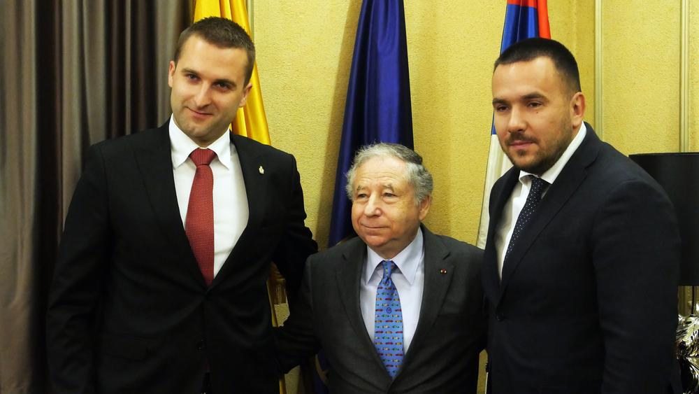Milan Nikolić, Žan Tod i Dejan Stojić - FIA i AMSS